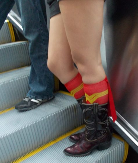 Even socks are geeky at the SDCC