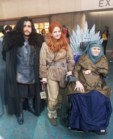SDCC 2019 game of thones group