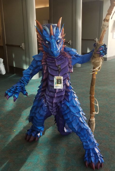 cosplays from the 2019 San Diego Comic Con dragon