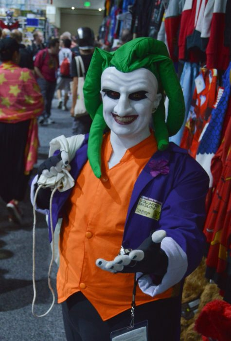 The Batman Joker cosplay