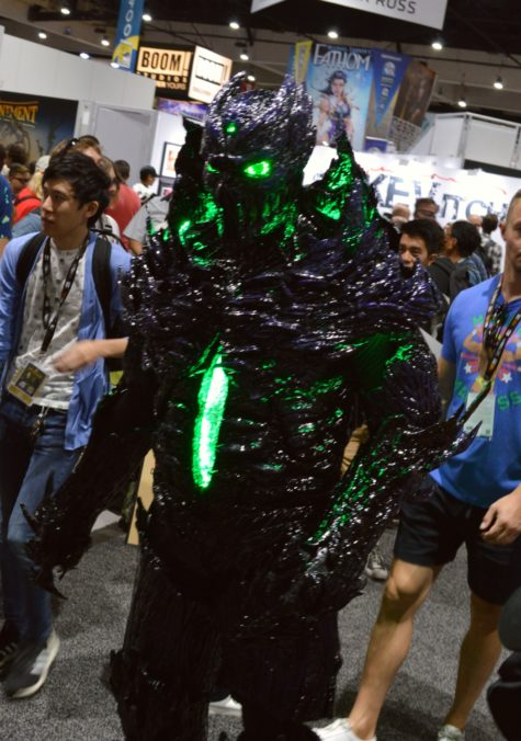 glowing monster costume