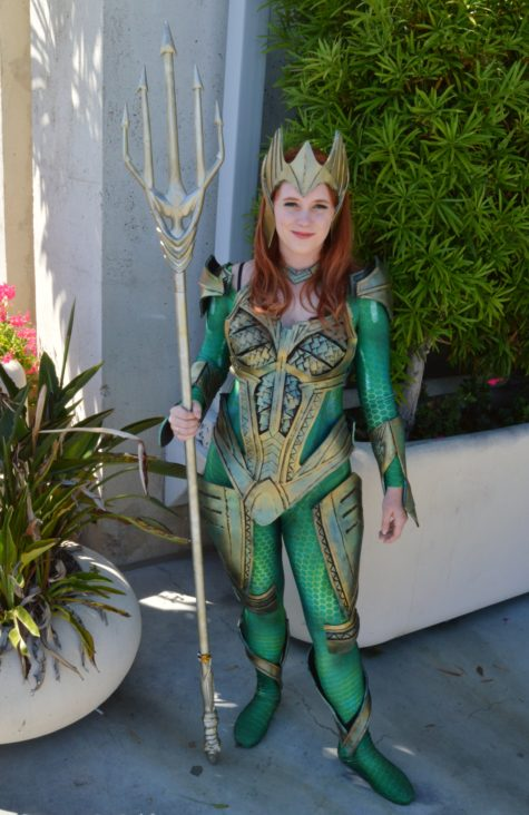 Aquaman lady sdcc