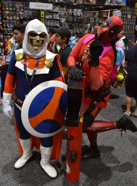 Taskmaster and Deadpool