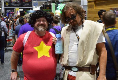 Steven Universe and Dude Jedi
