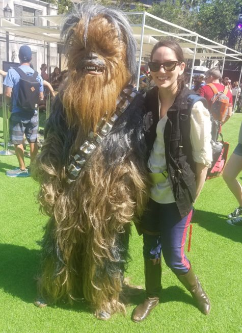 chewbacca and lady han solo